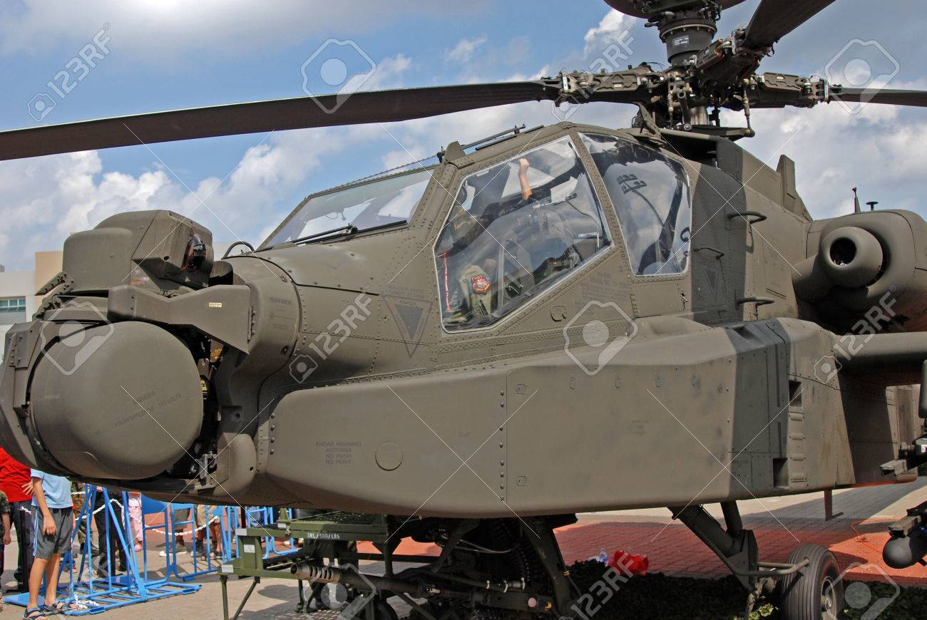 apache in the military camps Stock Photo - 1576257