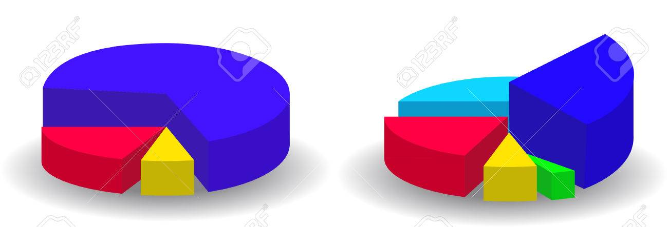 Pie Chart Illustration Royalty Free Cliparts Vectors And Stock