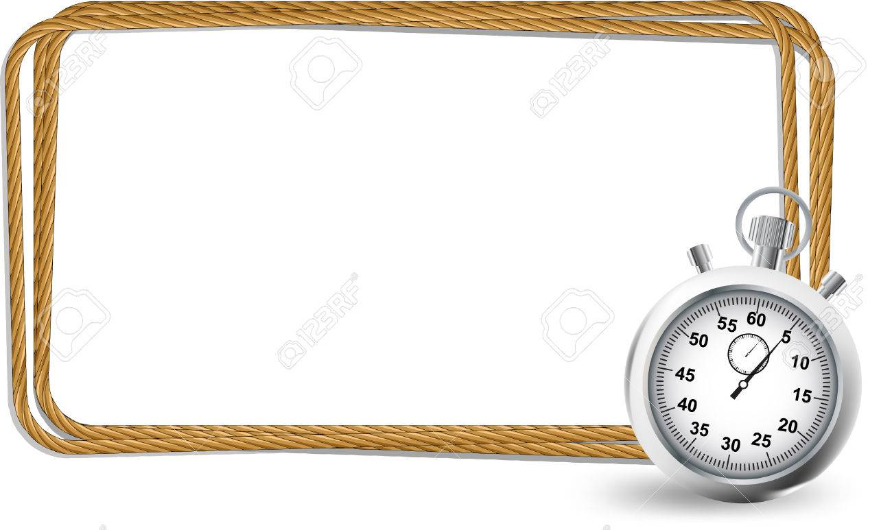Stopwatch with rope frame royalty free cliparts vectors and stopwatch with rope frame stock vector 33845807 jeuxipadfo Image collections