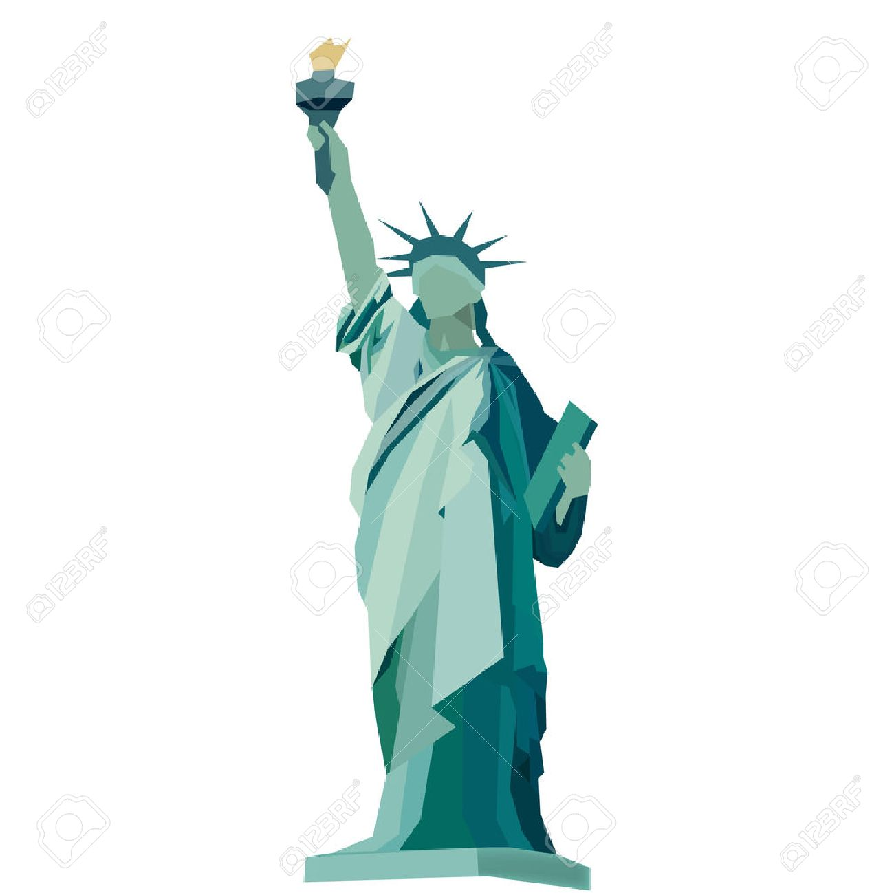 statue of liberty vector royalty free cliparts vectors and stock rh 123rf com statue of liberty vector art free statue of liberty vector image