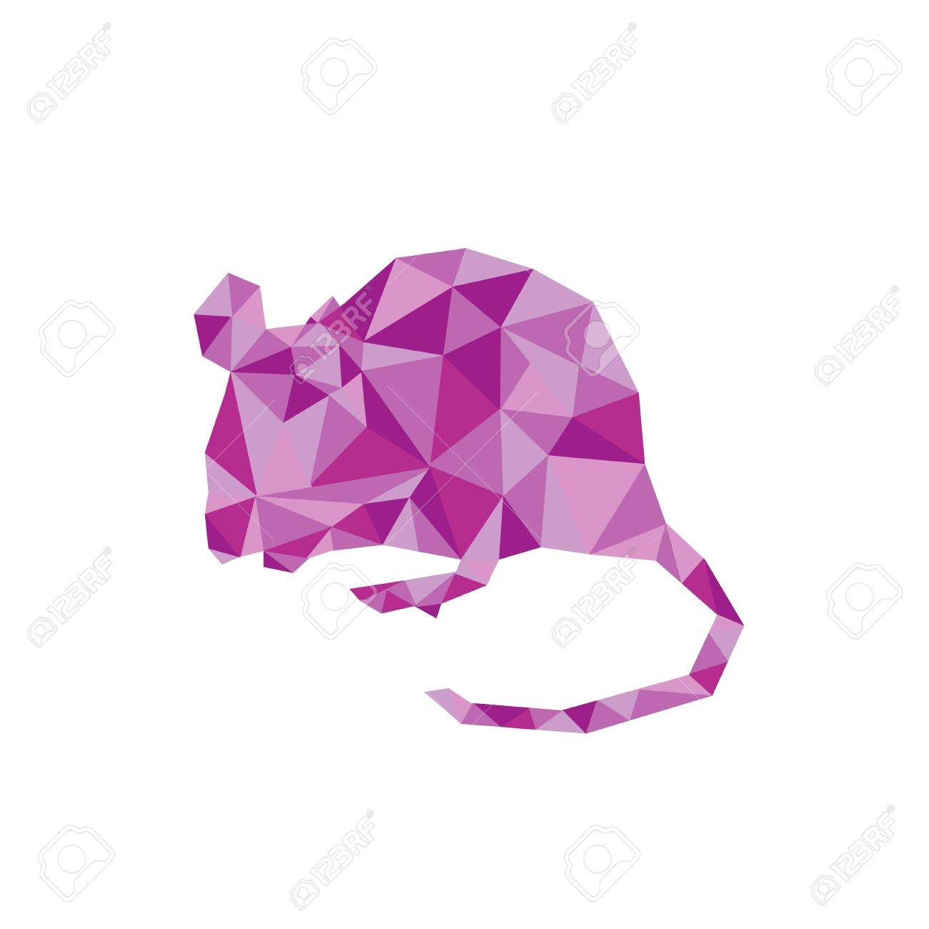 Rat polygon royalty free cliparts vectors and stock illustration rat polygon stock vector 34298759 jeuxipadfo Images