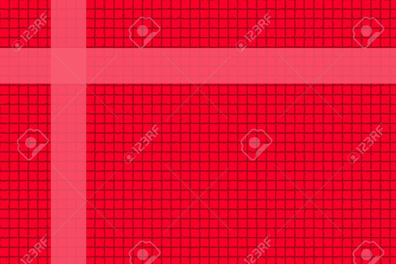 The Picture Red background in a box style concatenating - 22174776