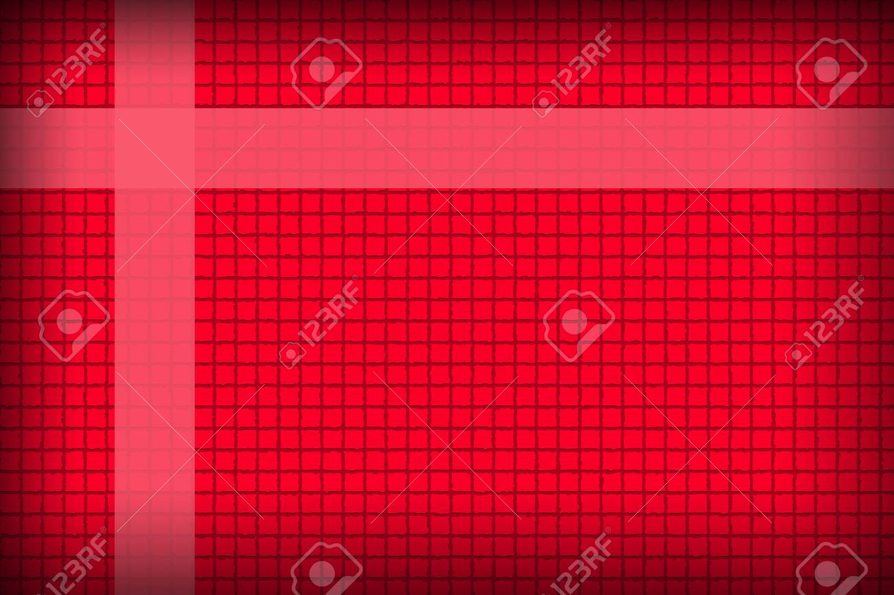 The Picture Red background in a box style concatenating - 22174779