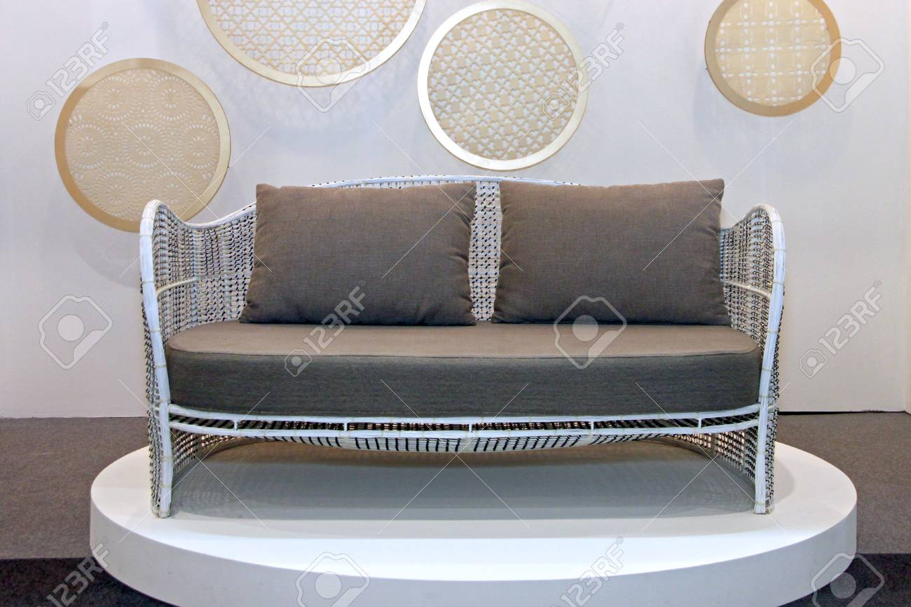 The Picture Sofa in the living room Stock Photo - 23040276