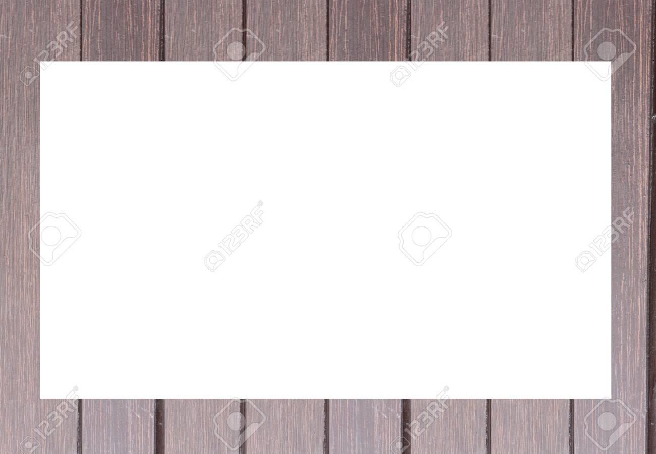 Alter Holzrahmen Isoliert Auf Weißem Hintergrund. Lizenzfreie Fotos ...
