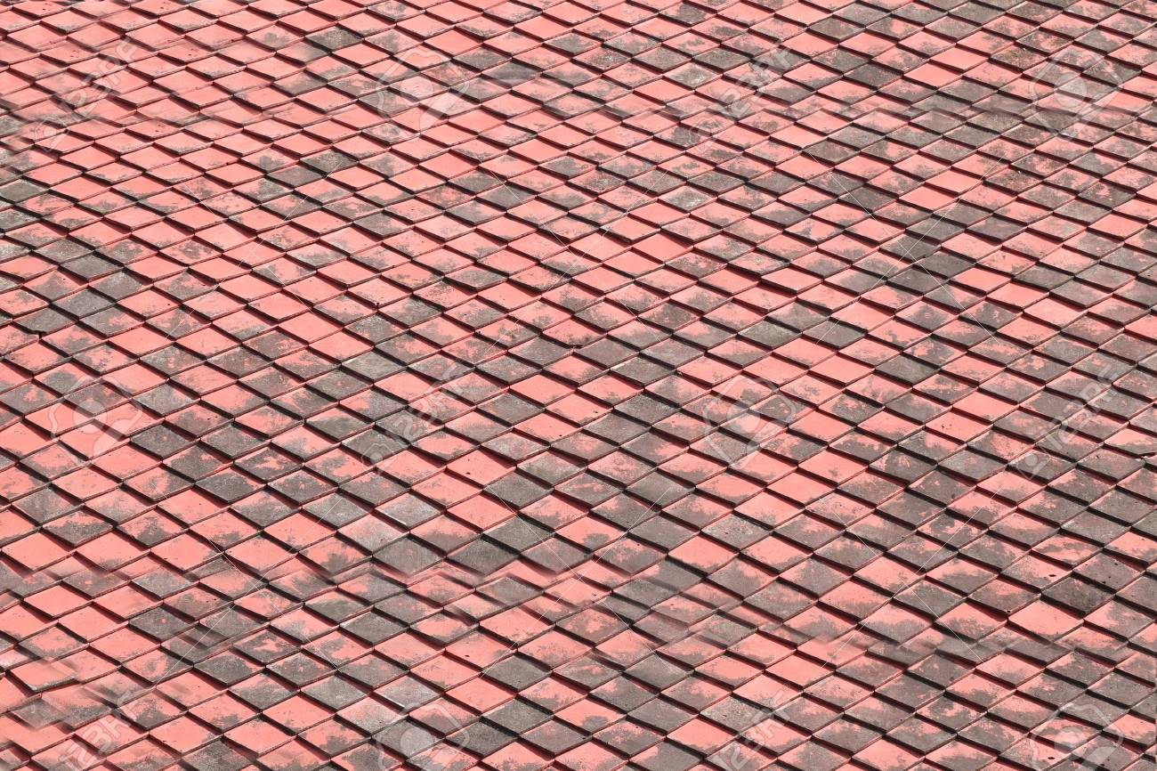 Old Roof Tiles Of The Building Texture For The Design Background Stock Photo Picture And Royalty Free Image Image 60088357