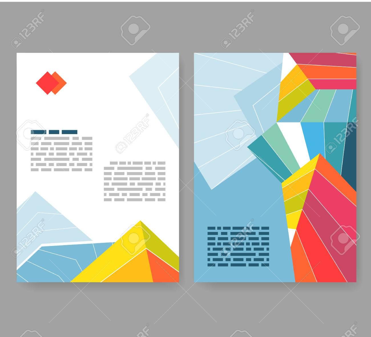 flyer leaflet booklet layout editable design template a4
