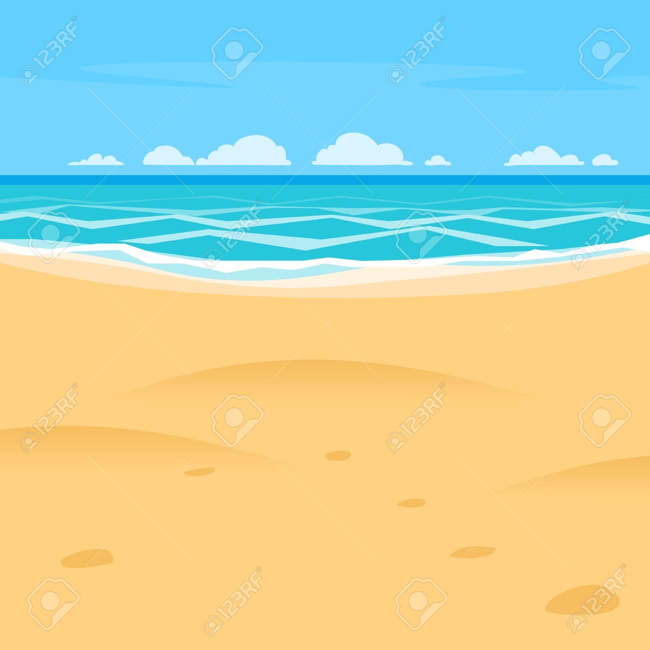 Sea Shore Stock Vector Illustration And Royalty Free Sea Shore Clipart