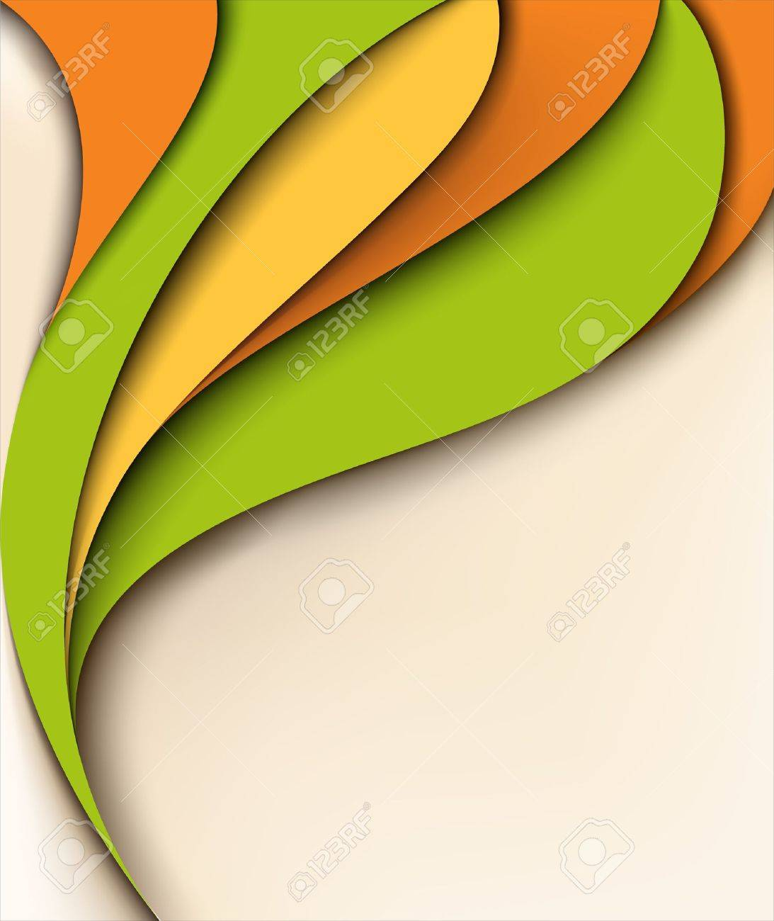 Abstract colorful background with place for text Stock Vector - 12931192