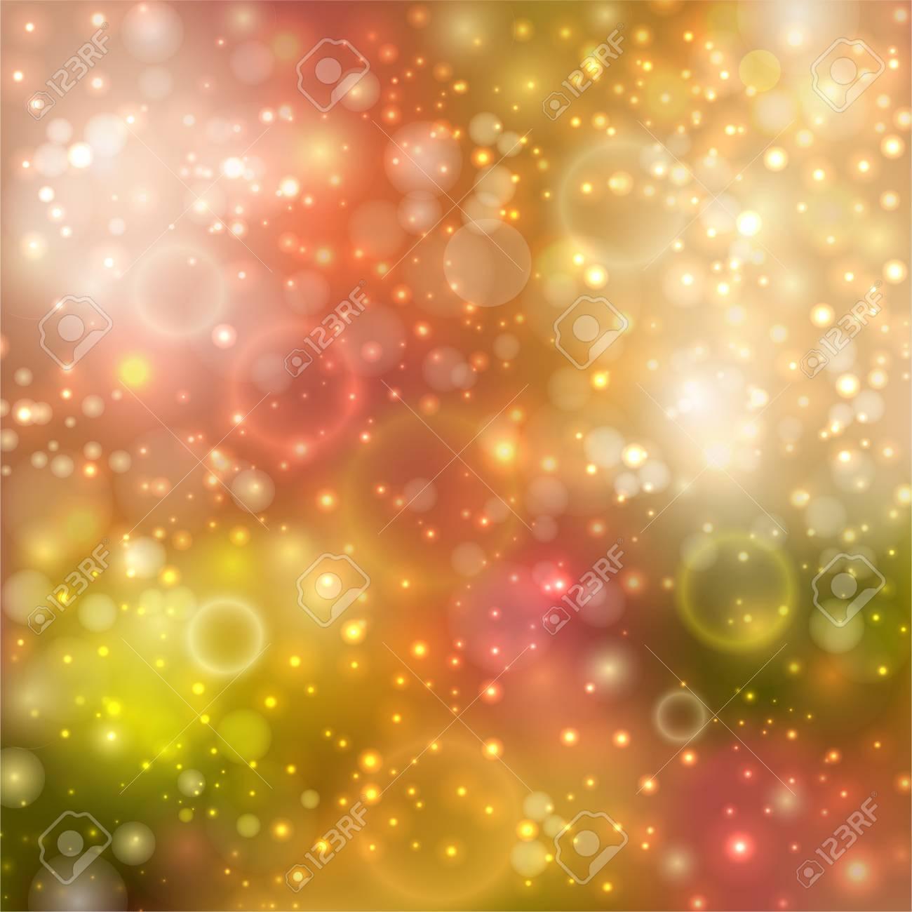 Elegant background with glowing lights Stock Vector - 16246698