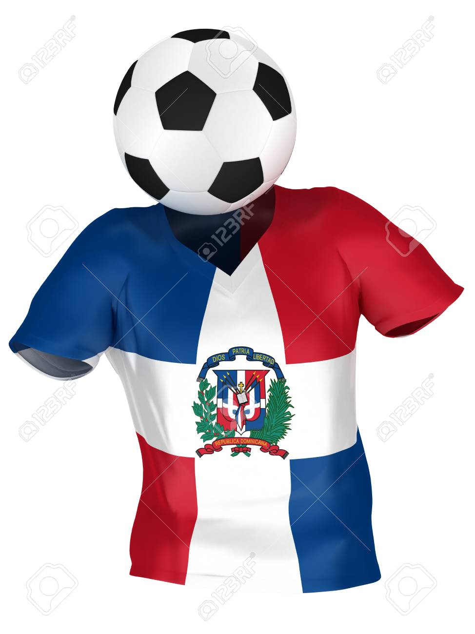 National Soccer Team Of Dominican Republic  8d6acde37