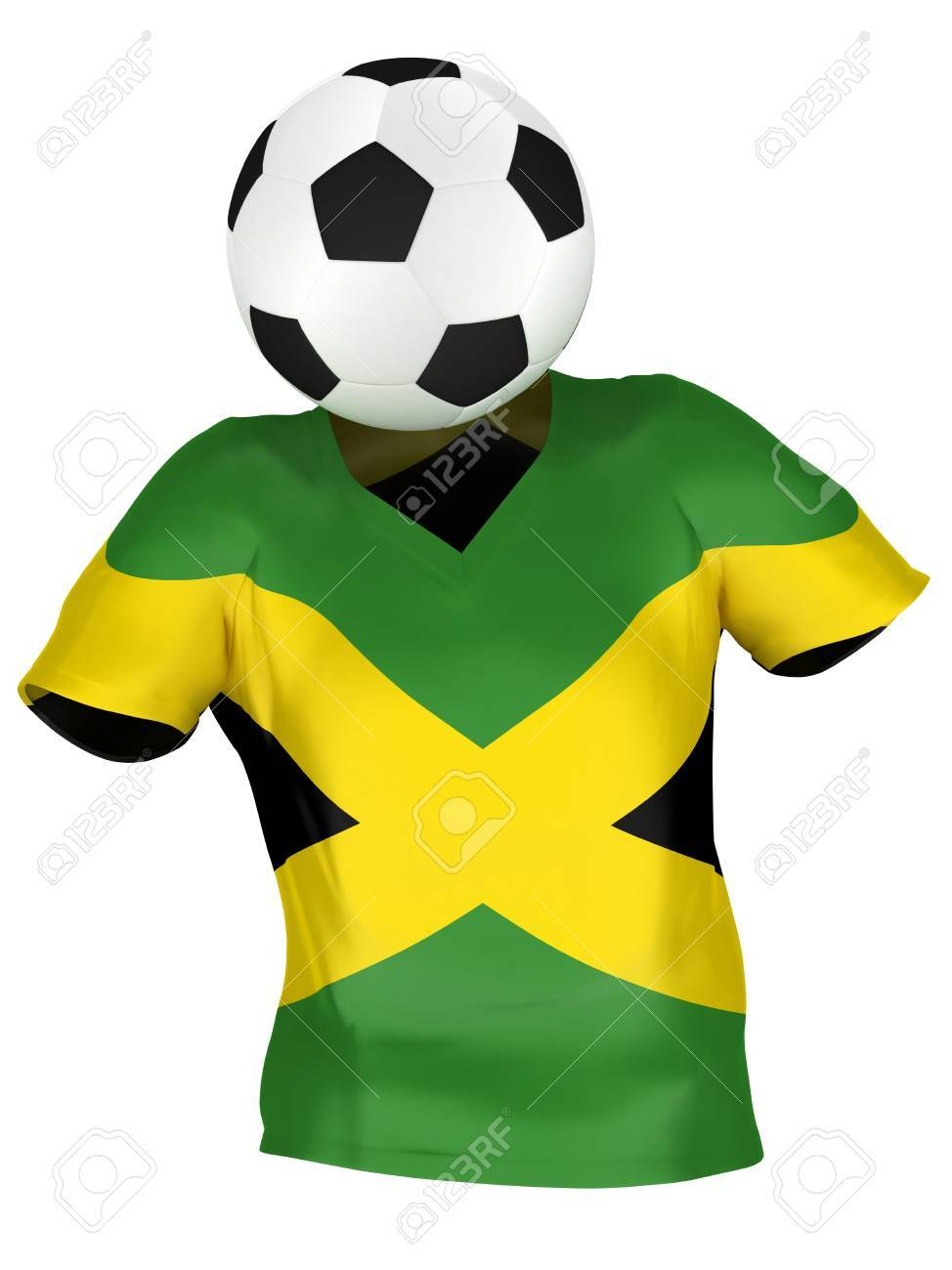innovative design fe369 9c236 National Soccer Team of Jamaica | All Teams Collection | Isolated