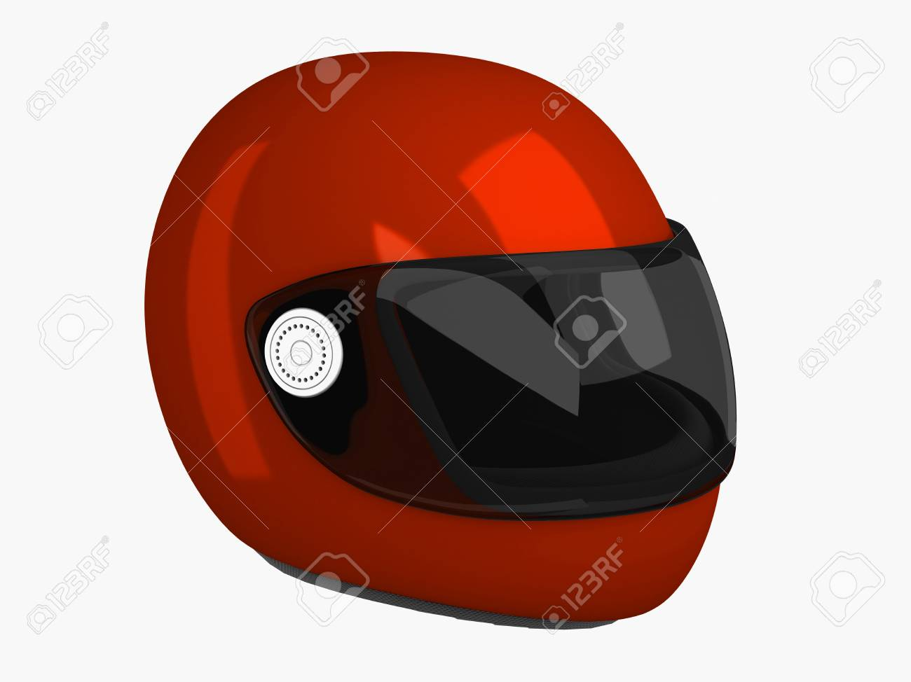 Casque moto 3d