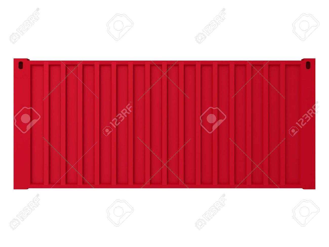 High Quality Cargo Container - Isolated Object Series Stock Photo - 10181006