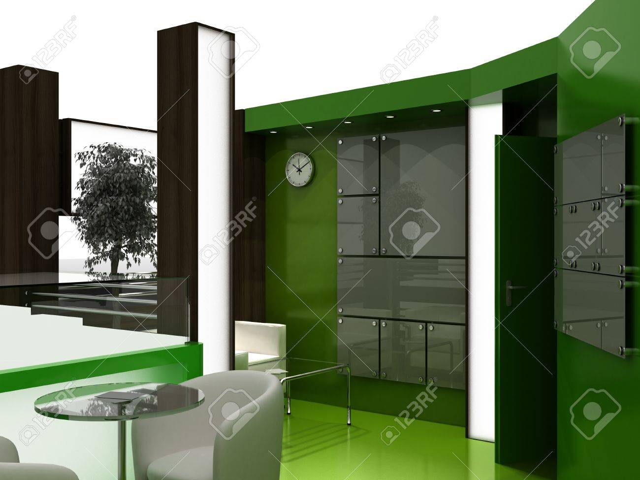 Exhibition Stand Interiors : Exhibition stand interior sample interiors series d stock