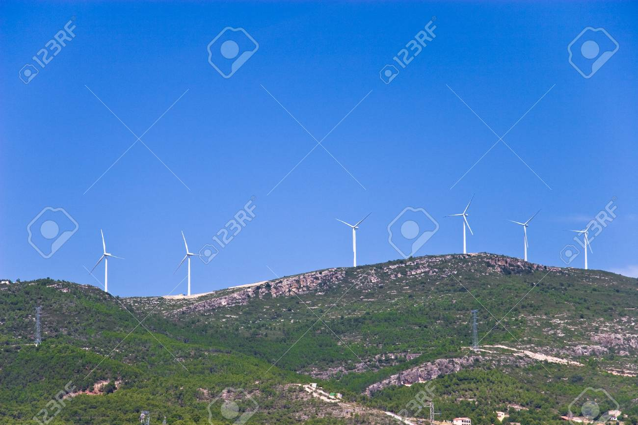 Wind Turbines in Spain Stock Photo - 11600598