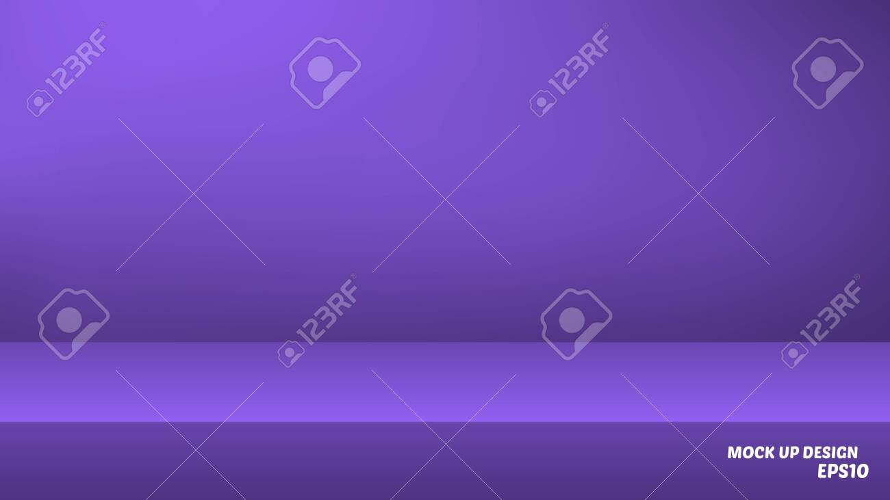 Empty studio background mock up for product display - 133529026