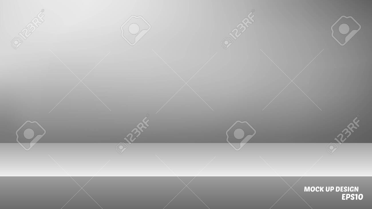 Empty studio background mock up for product display - 133528901