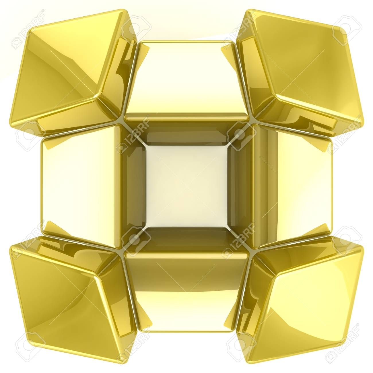 3D tiles background Stock Photo - 18326917