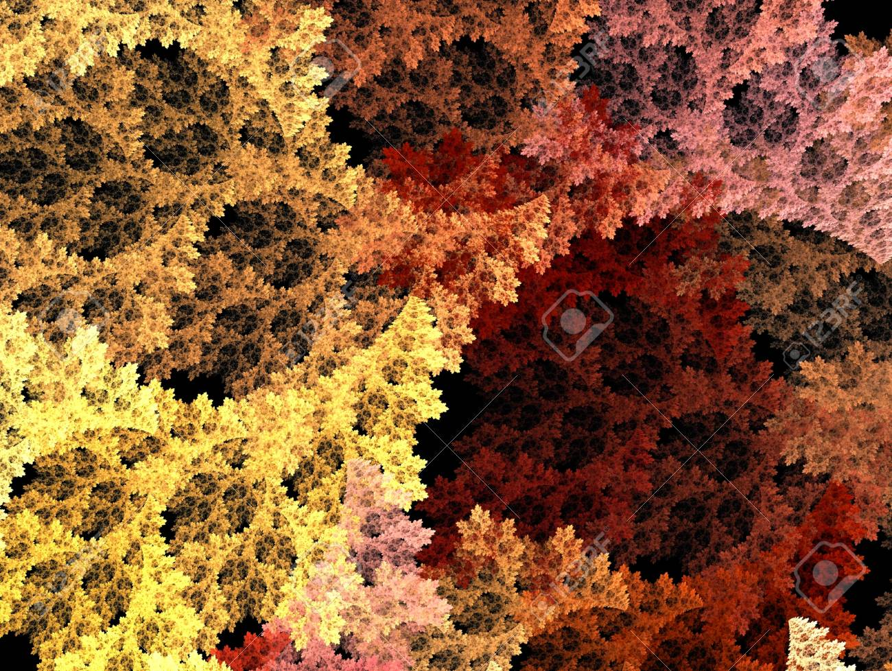 Fractal Illustration background. Abstract graphic. Rendered image. Stock Photo - 18361684