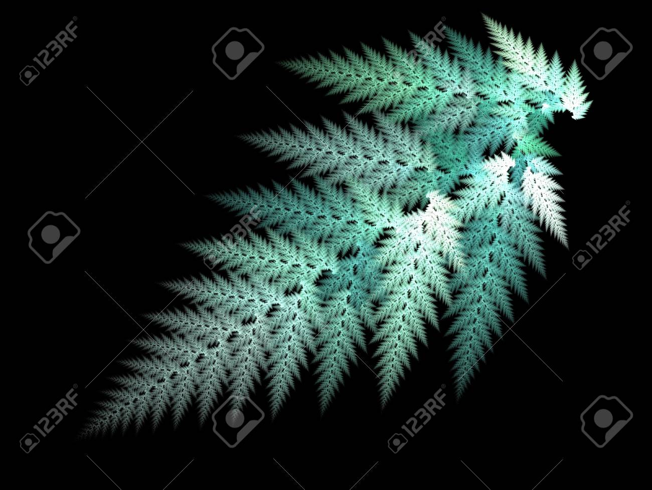 Fractal Illustration background. Abstract graphic. Rendered image. Stock Illustration - 18360581