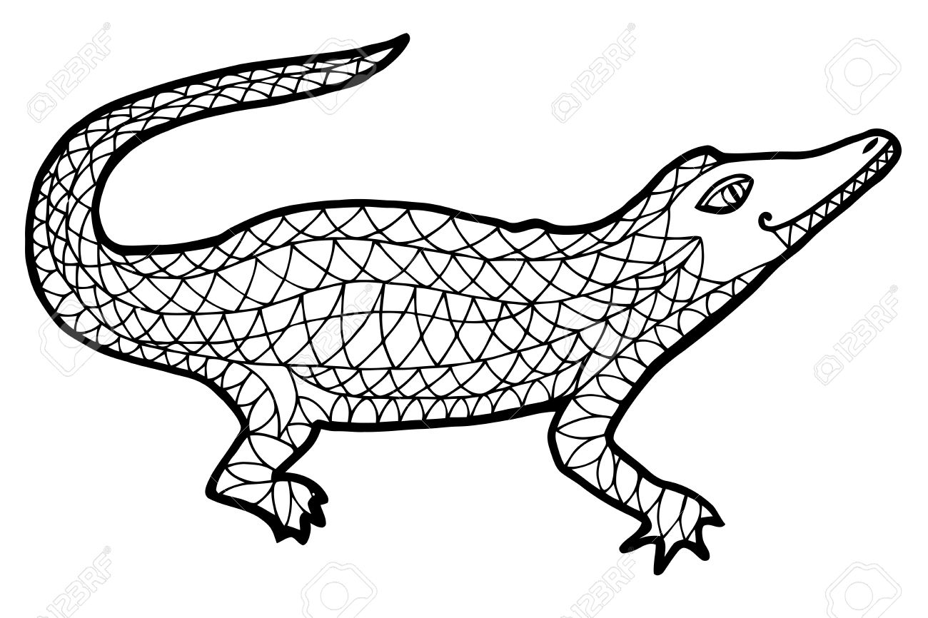 Fantastisch Salzwasser Krokodil Malvorlagen Fotos - Malvorlagen Von ...