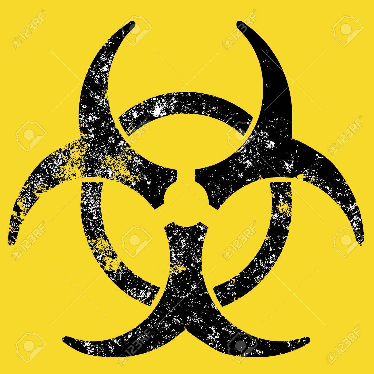 Grunge Biohazard sign Stock Vector - 7100300