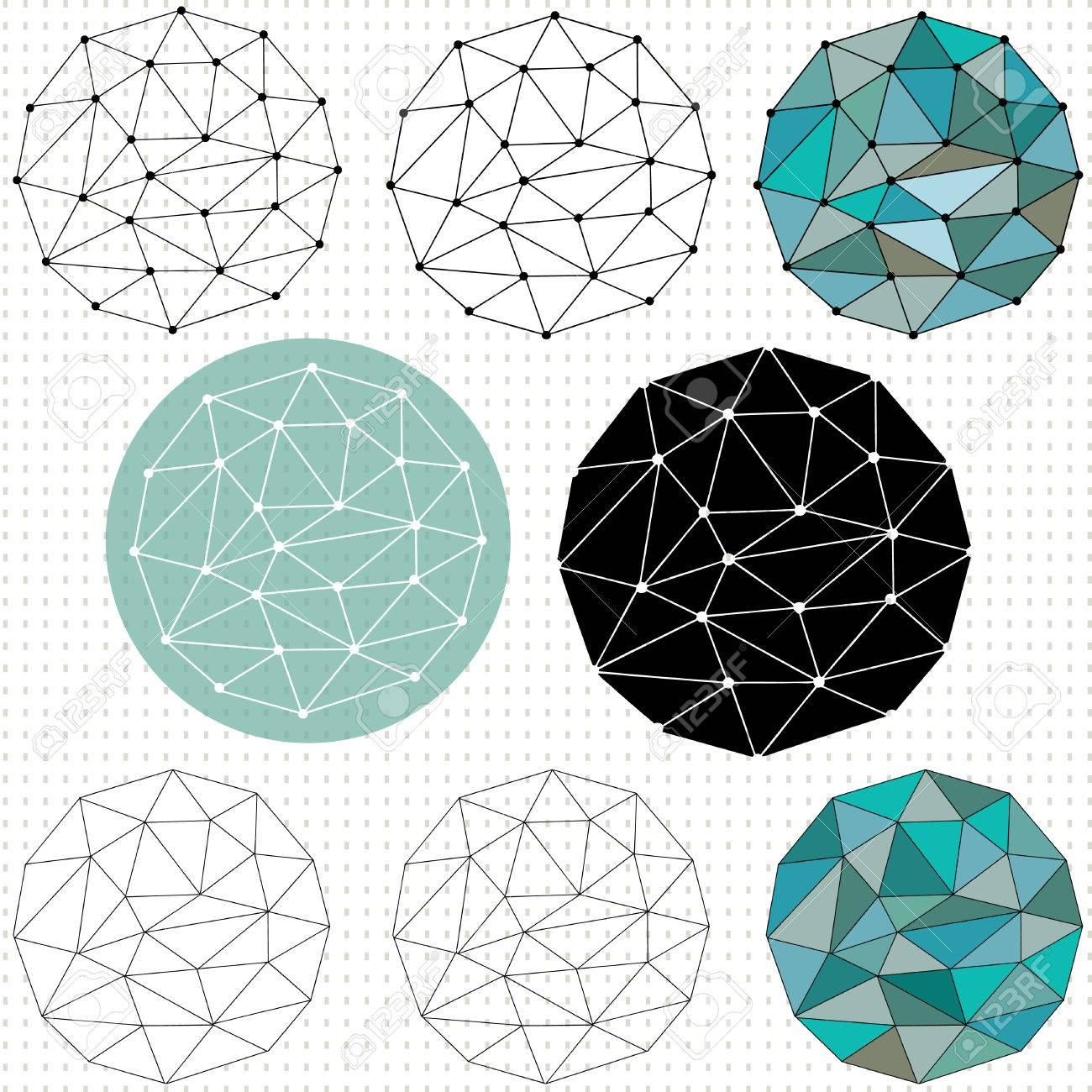 Geometric Circle Patterns Custom Inspiration