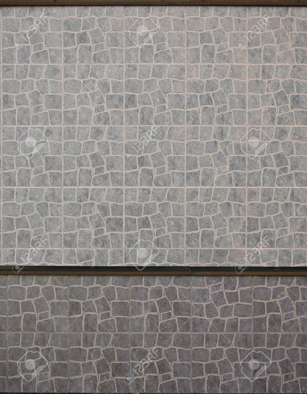Russian Ceramic Wall Tiles Texture Modern Exterior Marble Floors Stock Photo