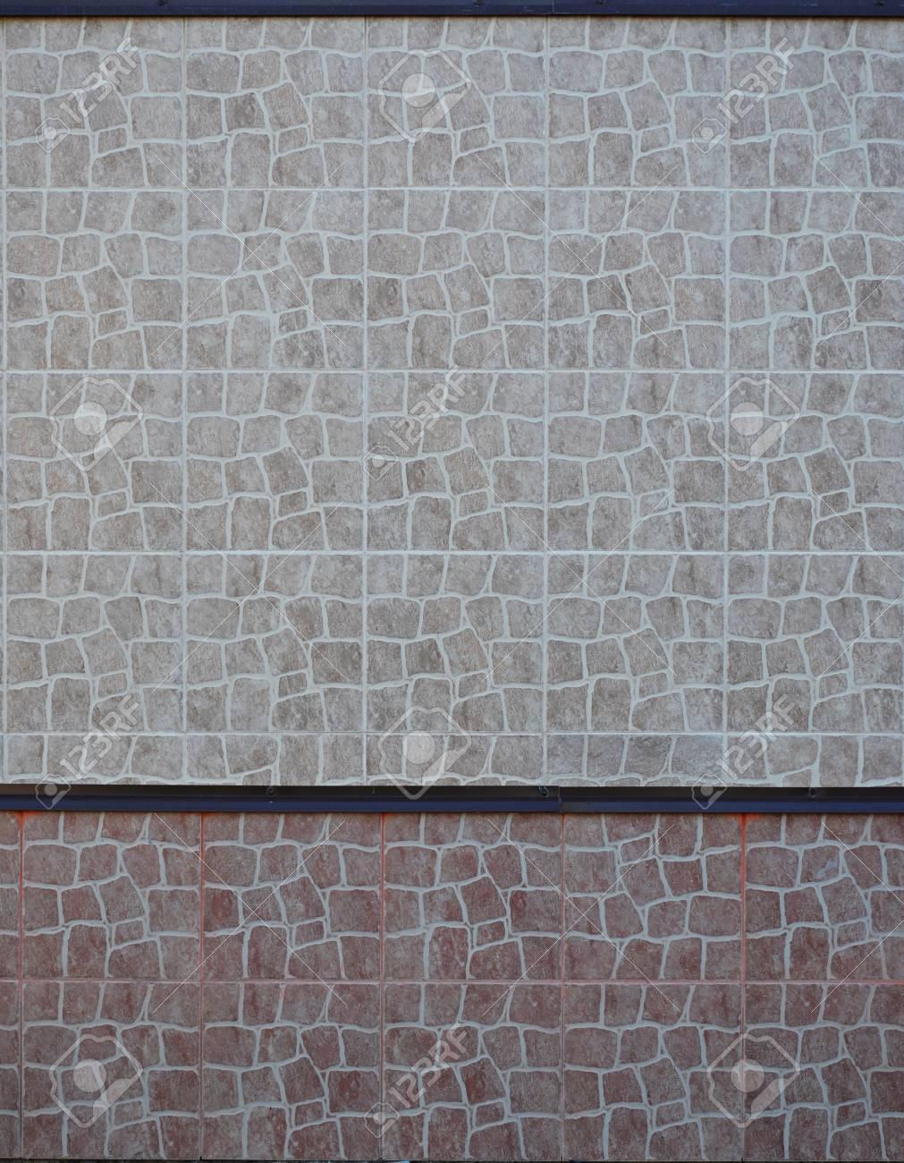 Exterior ceramic wall tile