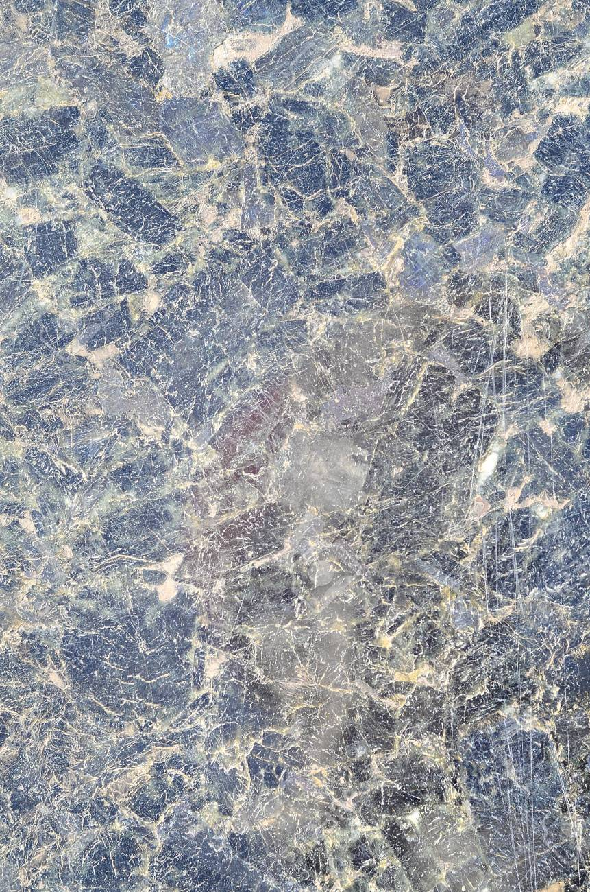 Dark Blue Close Up Granite Texture Pattern Surface Abstract Background Black Stone For