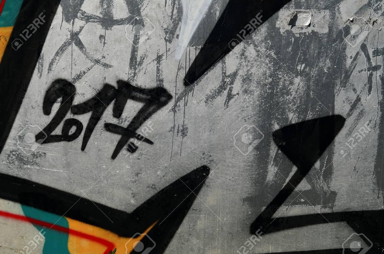 Beautiful Street Art Graffiti Abstract Color Creative Drawing
