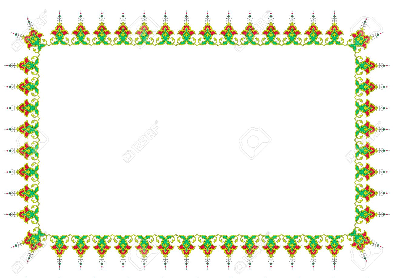 Persian islamic border tazhib frame royalty free cliparts vectors persian islamic border tazhib frame stock vector 30650860 thecheapjerseys Images