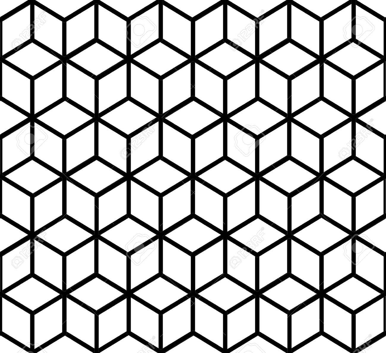Geometrische Muster 3d