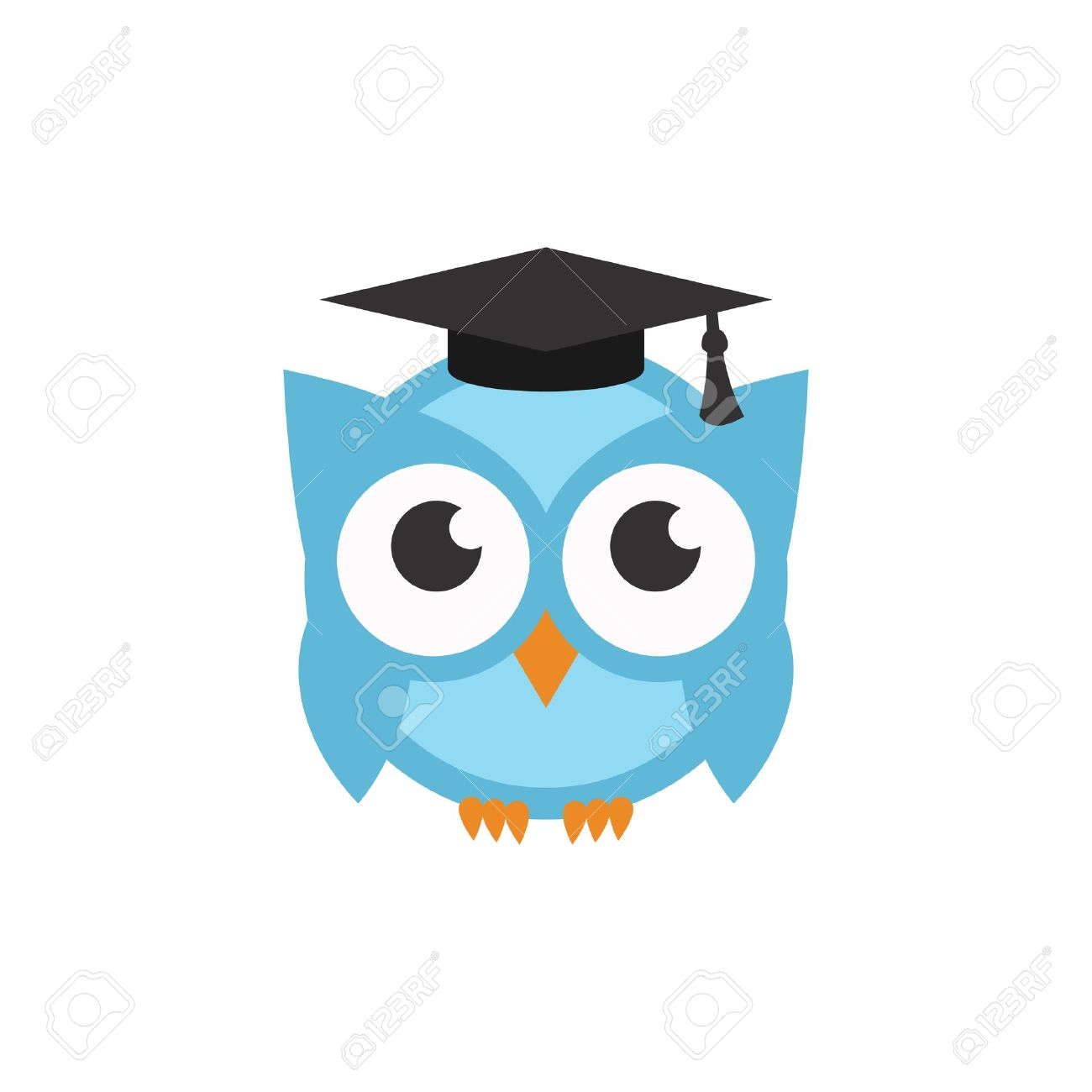 Owl Template Stock Photo, Picture And Royalty Free Image. Image ...