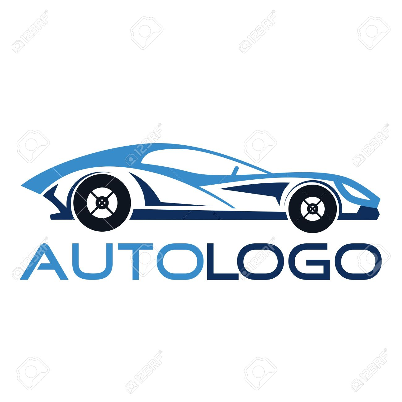Automotive Car Logo Template Stock Photo Picture And Royalty Free