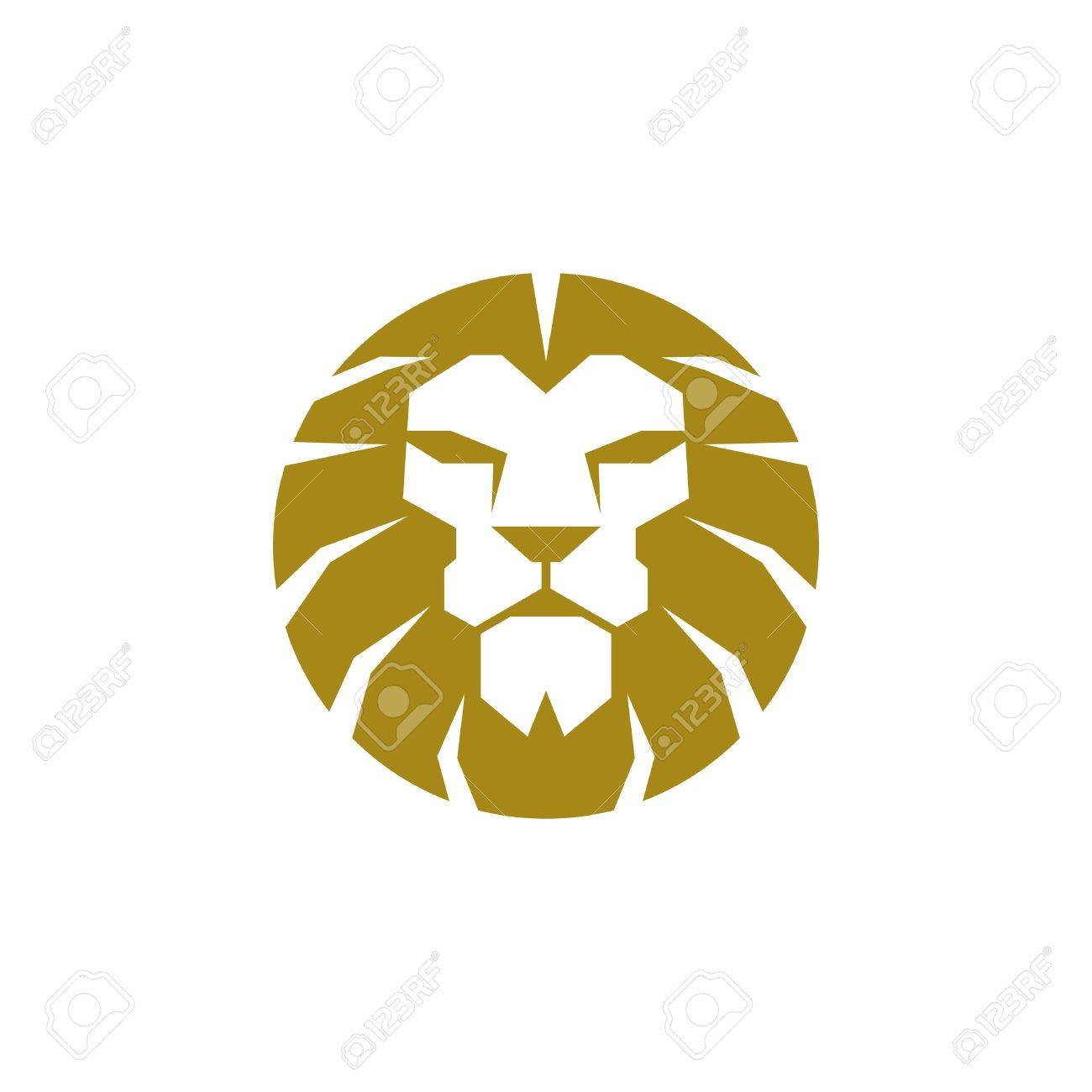 lion logo template stock photo picture and royalty free image
