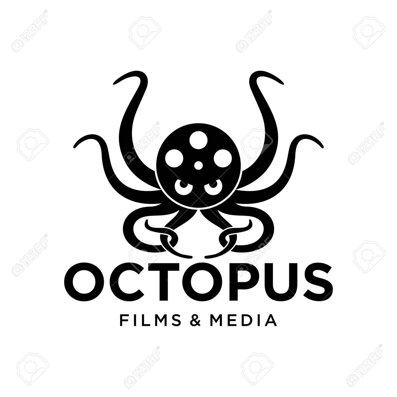 Octopus Logo Template Stock Photo, Picture And Royalty Free Image ...