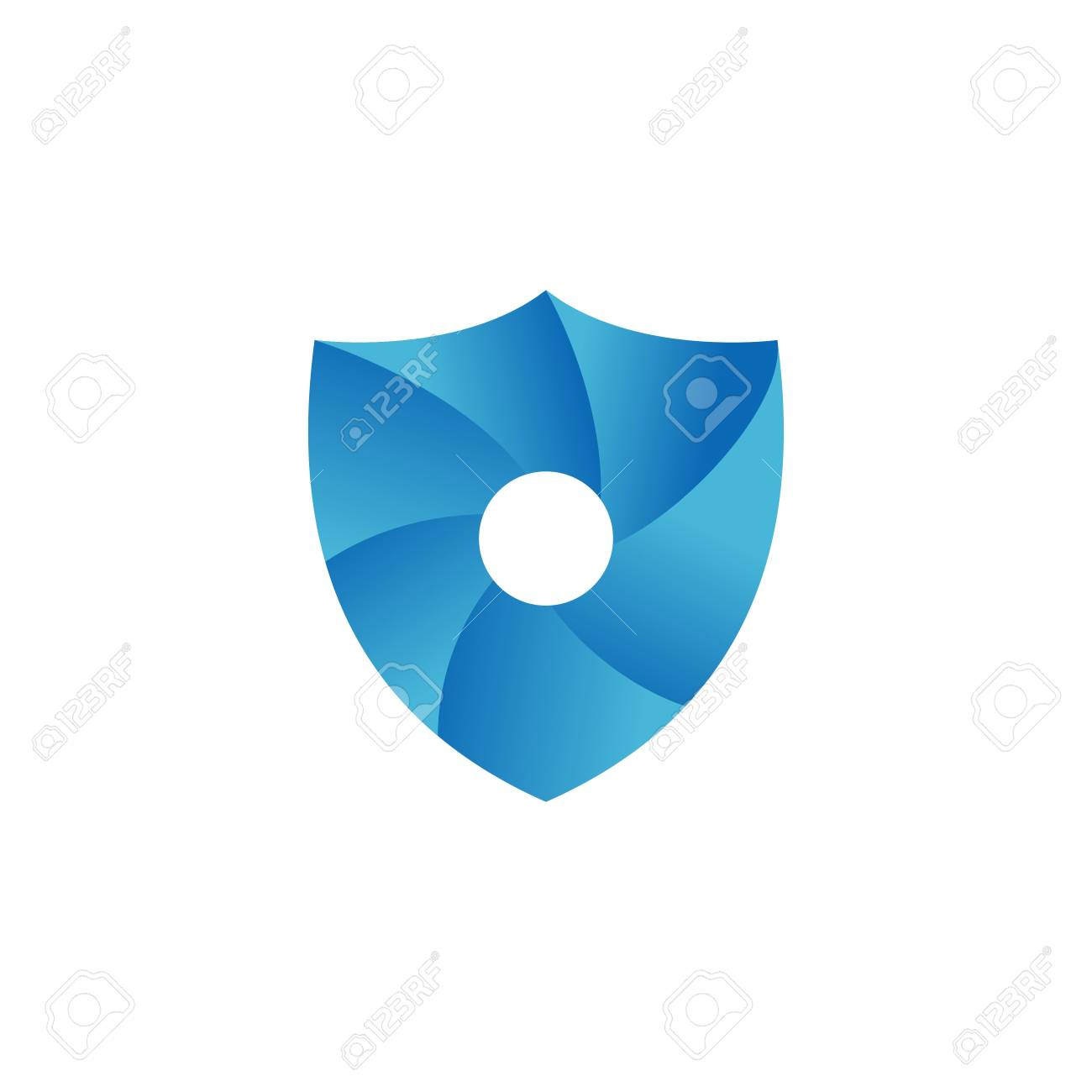 Shield Template Stock Photo, Picture And Royalty Free Image. Image ...
