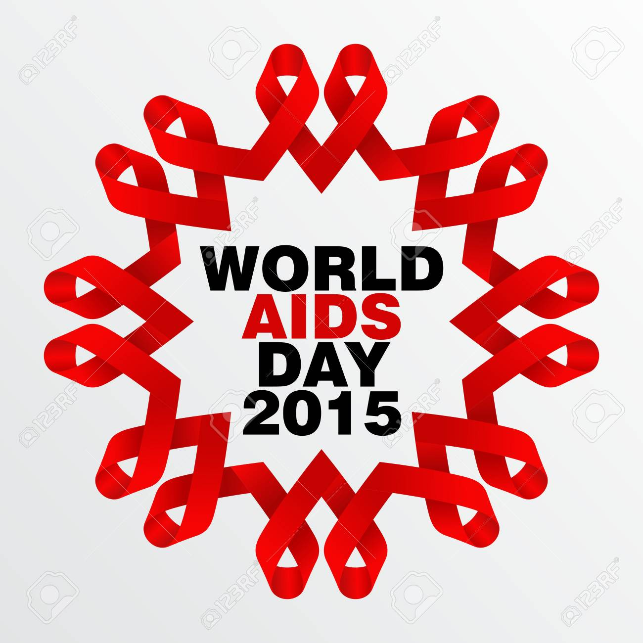 Inspirational Message Of The Day World Aids Day Poster And Quotes Inspirational Message Stock