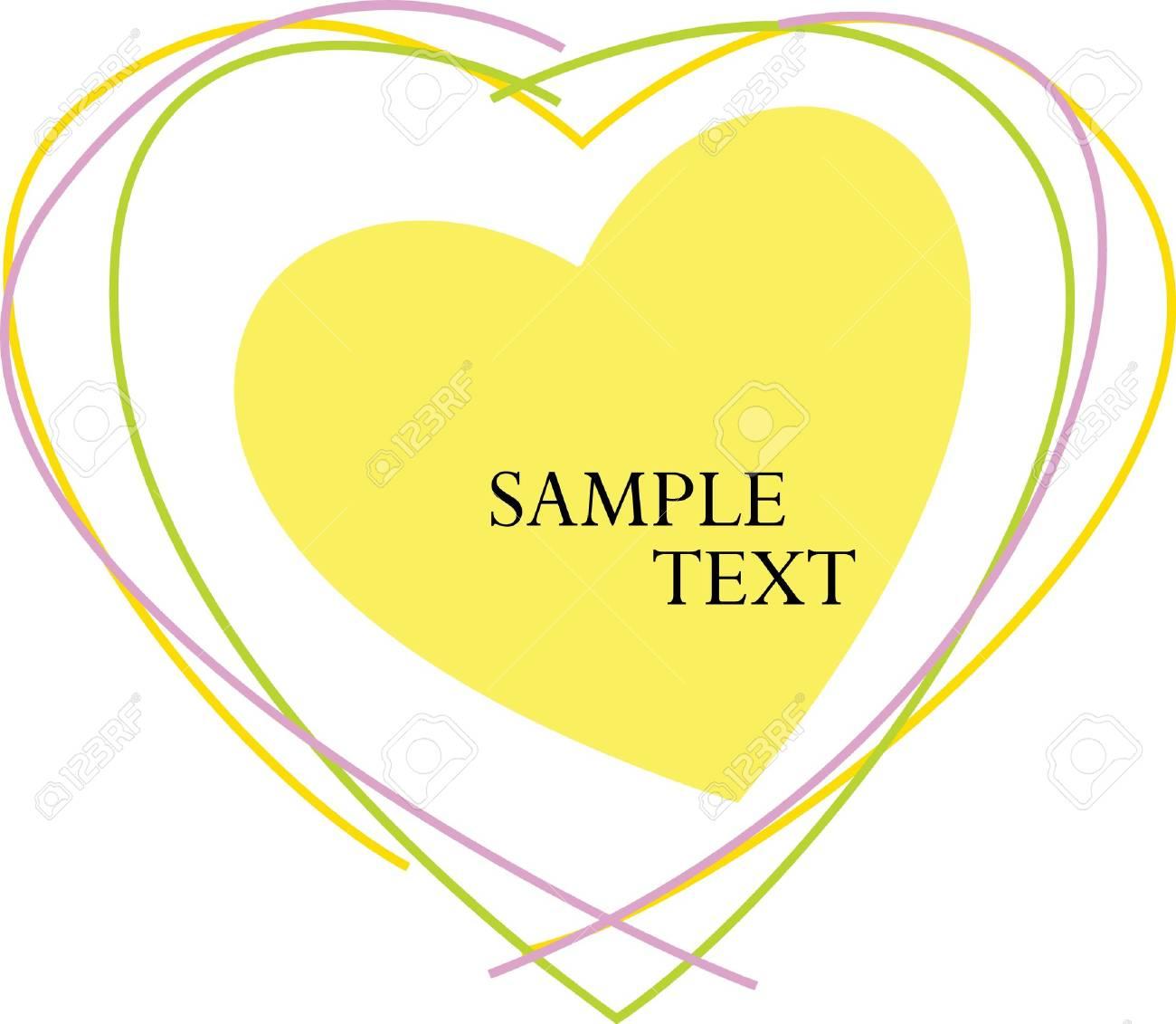 Valentine Text Stock Vector - 11962056