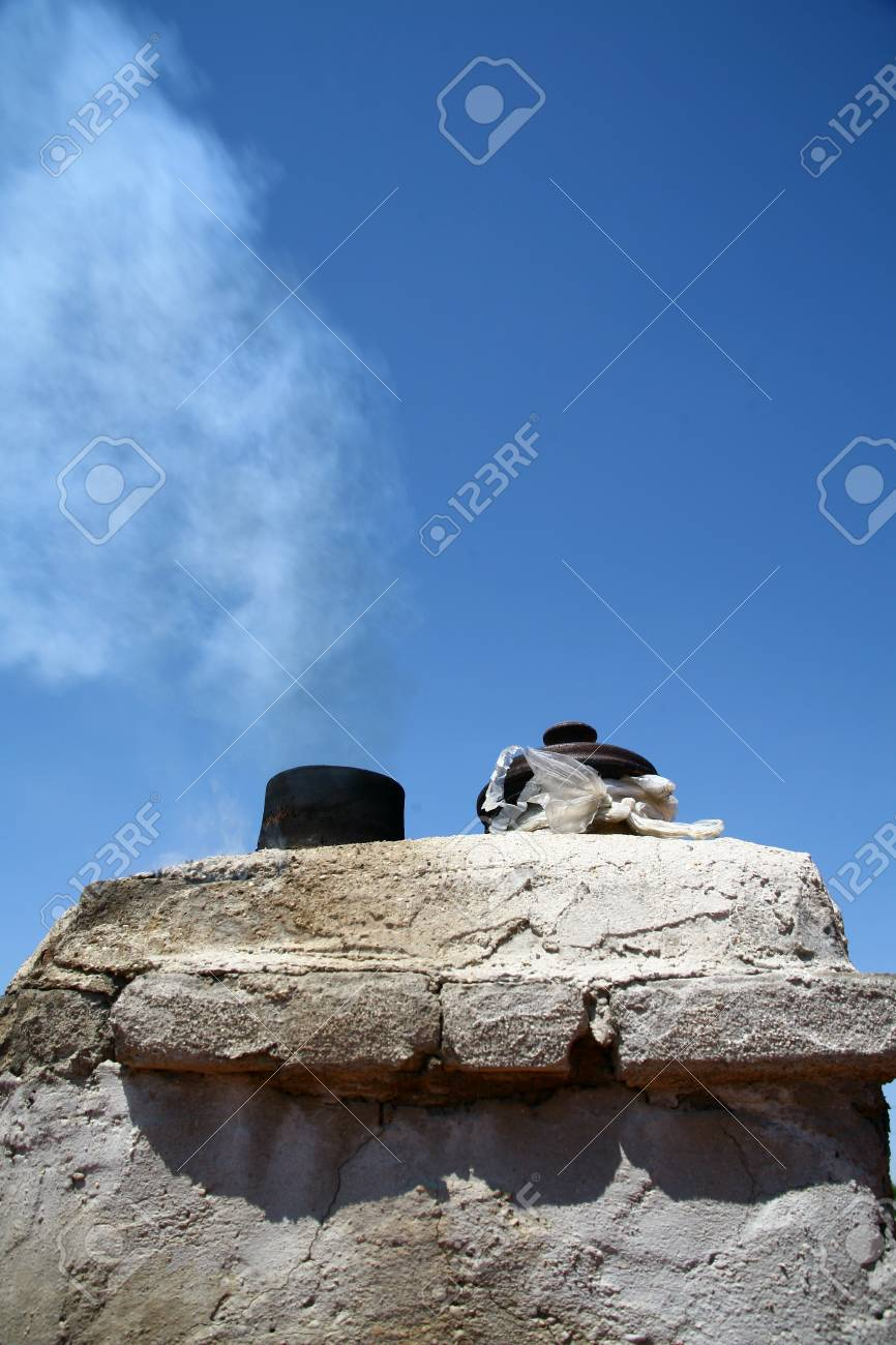 Dirty smoke on the sky, ecology problems Stock Photo - 7335811
