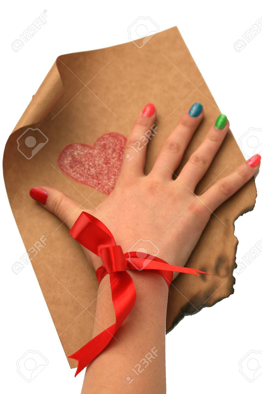 emotional heart design crafted Valentine's Day Stock Photo - 8853072