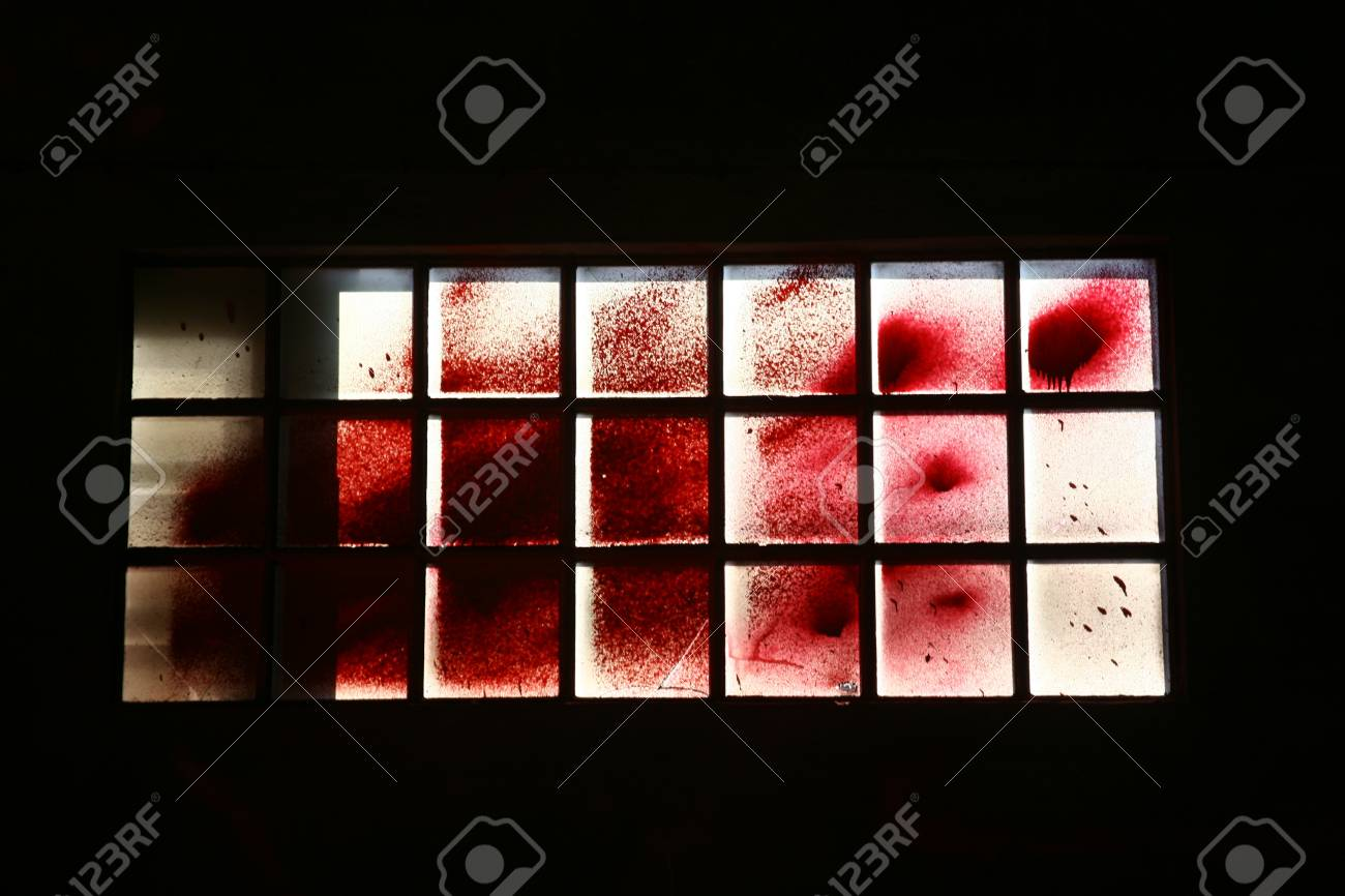 paints a beautiful image of the windows of the factory Stock Photo - 10391191