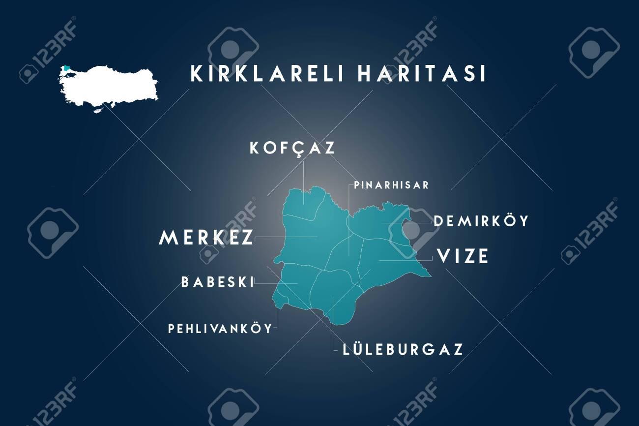 Kirklareli districts kofcaz, babeski, pehlivankoy, luleburgaz,..