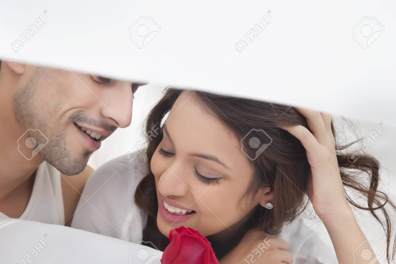Romancing couple images
