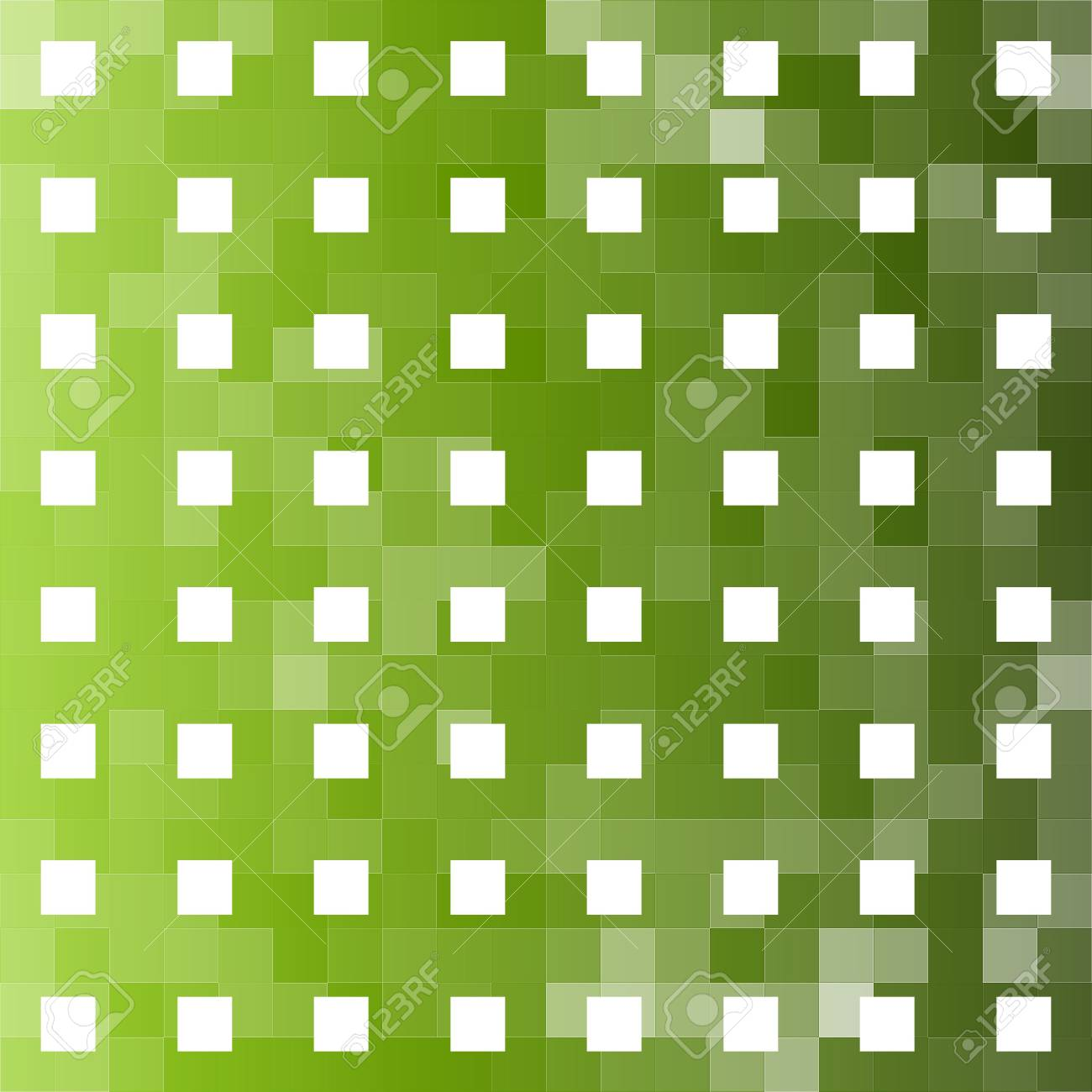 Abstract green square grid background Stock Photo - 5926897