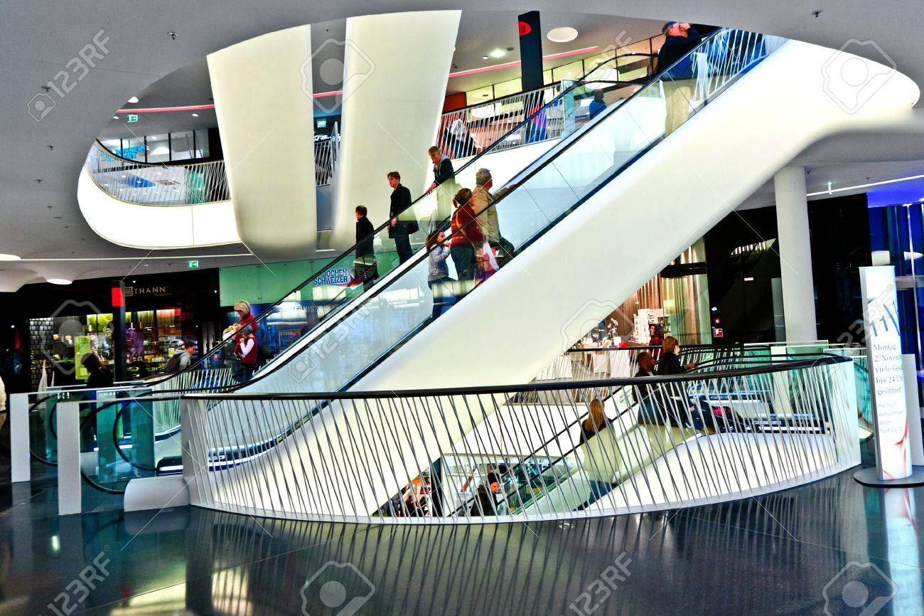 Modern Architecture Germany frankfurt, germany - august 21: modern architecture in the new
