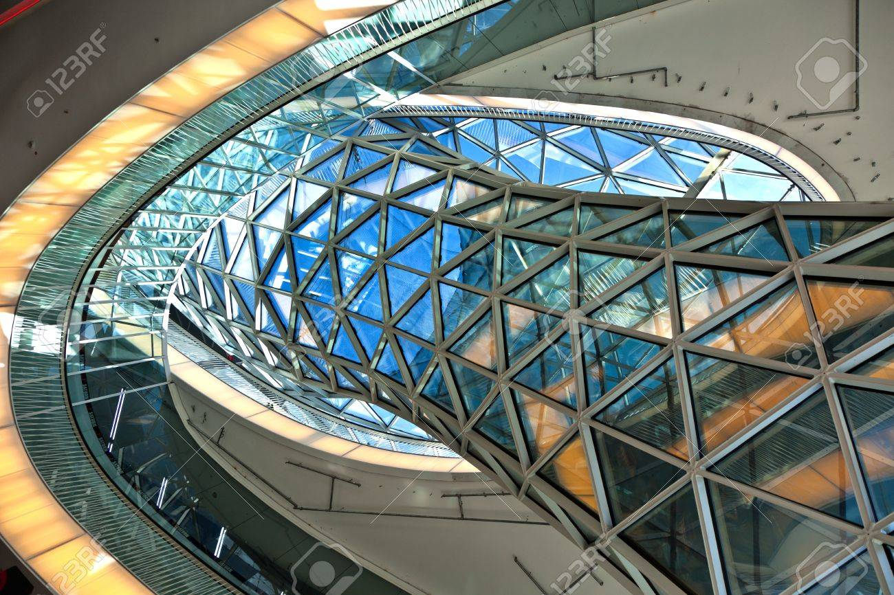 Modern Architecture Germany frankfurt, germany - august 21: modern architecture in the newly
