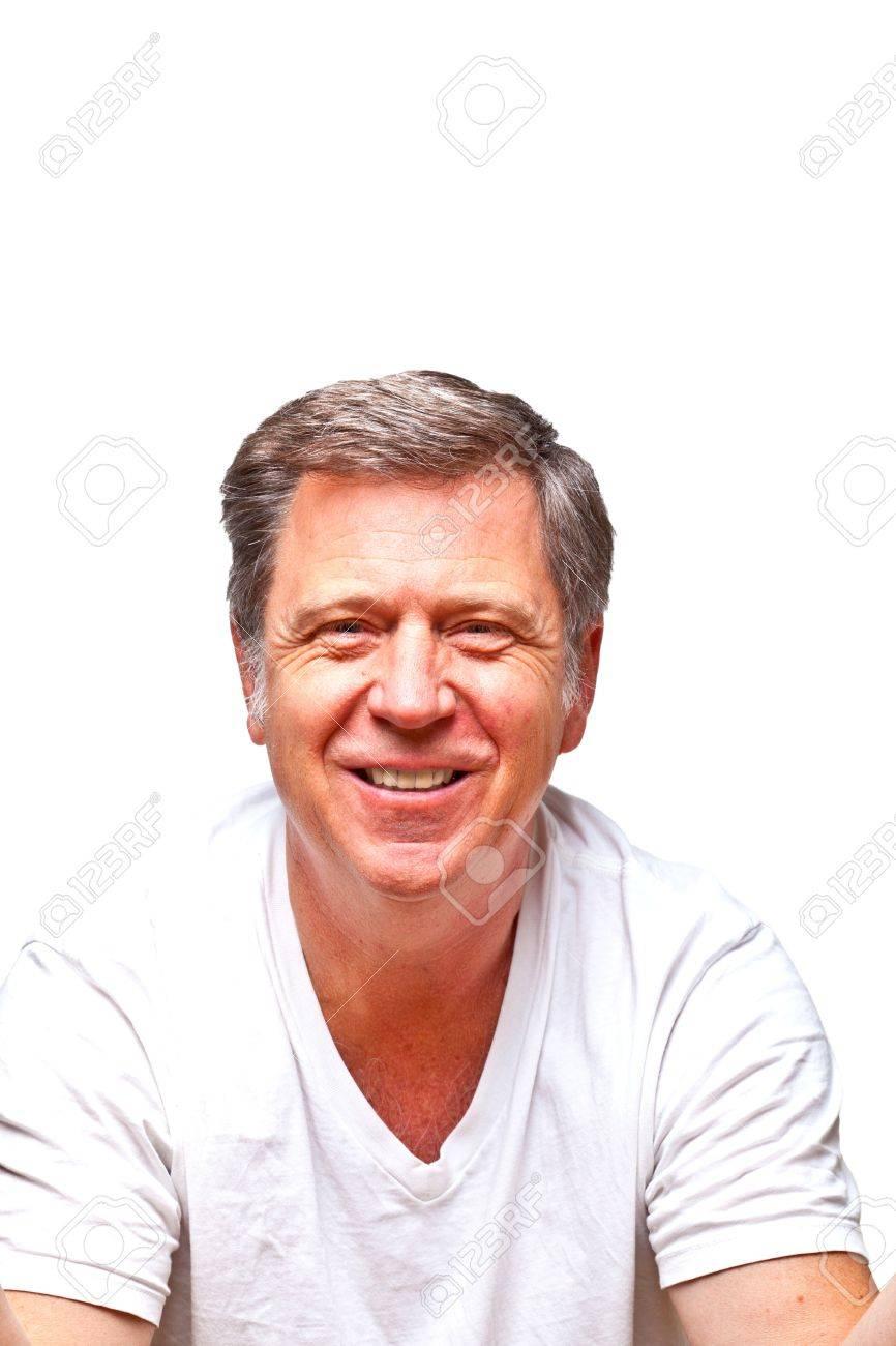 portrait of smiling senior man Stock Photo - 10339196